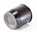 4.25 in Steel Black Powder Coated Center Cap Closed End