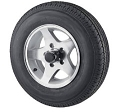 4.80-12 Load Range C Bias Ply Trailer Tire with 12