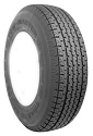 ST20575R14 Towmaster Radial Trailer Tire LR C, 1760 lb Max Load