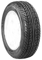 195/65R14 Toursport Nankang Radial Tire 89H SL TL BSW XR611, 1279 lb Max Load