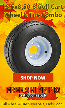 Golf Cart Wheels and Tires Sale