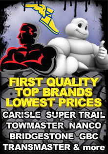 Trailer Tires First Quality, Top Brands, Free Shipping.