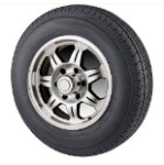 ST175/80D13 Bias Ply Trailer Tire with 13
