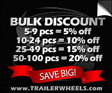 Trailer Wheel and Tire Bulk Discount Rates