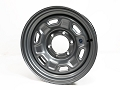 15x6 inch HiSpec H3 Series, Stylized Steel Trailer Wheel 6 on 5.5 Lug, 2,830 lb Max Load