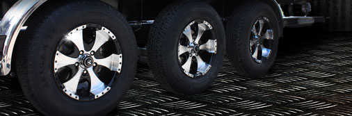 Custom Trailer Wheels for Boat, RV, Travel and Utility Trailers