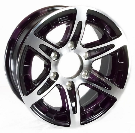 16x6 T12 Sendel Aluminum Trailer Wheel 6 On 5 50 Lug
