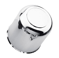 4.90 inch ABS Plastic Chrome Center Cap with Plug S1050-490CC