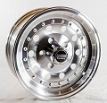14x6 American Racing Outlaw II (Series AR62) Aluminum Wheel , 5 Lug, 1580 lb Max Load