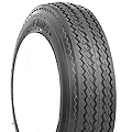 5.30-12 Nanco Bias Ply Trailer Tire, Load Range C, 1045 lb Max Load