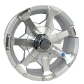 15x6 HiSpec Series06 Aluminum Trailer Wheel 6 Lug, 2830 lb Max Load
