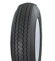 ST205/65D14 (F65-14) Tow-Master Bias Ply Trailer Tire LRC, 1760 lb Max Load