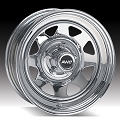 15x6 Chrome Spoke Steel Trailer Wheel 6 Lug, 2850 lb Max Load