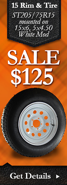 Trailer Wheel and Tire Combo Sale - Christmas 2014 - Free Shipping!
