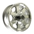 15x5 HiSpec Series06 Aluminum Trailer Wheel 5 Lug, 1820 lb Max Load