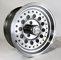 15x7 ION71 Aluminum Trailer Wheel, 5x4.50 Lug, 1900 lb Max Load