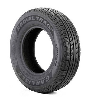 ST235/80R16 Carlisle Radial Trail HD Trailer Tire LR E, 3520 lb Capacity 6H04631