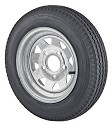 ST145R12 Radial Trailer Tire with 12 inch, 5 Bolt Galvanized Steel Spoke Trailer Rim