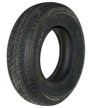 ST205/75R14 Goodyear Endurance Radial Trailer Tire, LR D, 2040 lb Max Load 724-864-519