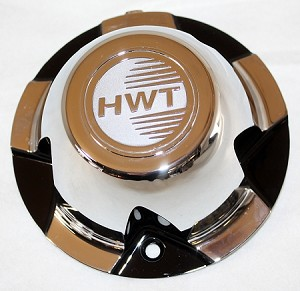 HiSpec Replacement Center Cap for 14 in Series 08/Dark Force Trailer Wheel