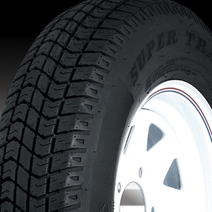 5.70-8 in Super Trail Bias Ply Trailer Tire LR B, 715 lb Max Load