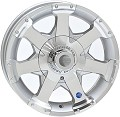 13x5 HiSpec Series06 Aluminum Trailer Rim 5 Lug, 1660 lb Max Load