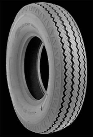 ST215/75D14 Towmaster Bias Ply Trailer Tire, LRC 1,870 lb Max Load