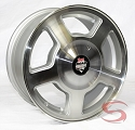 15x7 Ranger Road Armor Aluminum S99 Boat Trailer Wheel & Closed Cap, 6 Lug, 2600 lb Max Load