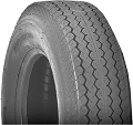 ST175/80D13 Bias Ply Nanco Tire Load Range C, 1360 lb Capacity