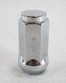 9/16 in Chrome Acorn Trailer Wheel Lug Nut with Right Hand Threads #5458L