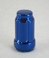 1/2-20 in Blue Anodized Acorn Spline Lug Nut