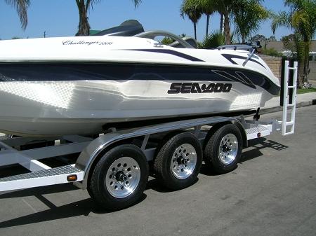 15x6 Aluminum Modular S20 Sendel Trailer Wheel 5 Lug 2150