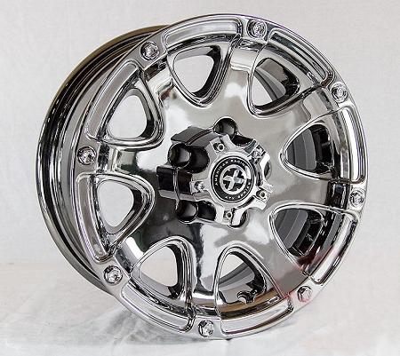 14x6 American Racing Atx Ledge Trailer Wheel 5 On 4 50