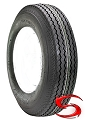 950-16.5LT Nanco Tubeless Bias Ply LT Truck Tire, 3195 lb Max Load