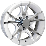 White Trailer Rims