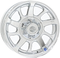 15 x 6 Series 08 Silver Aluminum Trailer Wheel 6 x 5.50