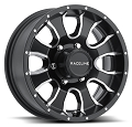 16 x 6 860M Mamba Matte Black Trailer Wheel 6 x 5.50 860M-66060