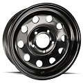 14 x 6 Modular Black Steel Trailer Wheel 5 x 4.5 Bolt Pattern 2746012-33146