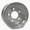 8x3.75 Galvanized Trailer Wheel 5x4.5 Lug, 900 lb Capacity