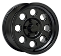 15 x 6 Yuma Series 908B Matte Black Aluminum Trailer Wheel 5 x 4.50 908B561235
