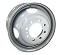 16 x 6 Light Truck Dual Mounting Wheel X-45460 8 on 6.50 Bolt Pattern 8 Window