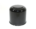 Black ABS Plastic Center Cap with Plug 4.25  S1050-425BB
