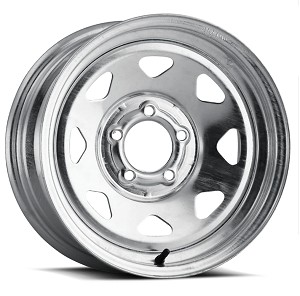 14x6 Galvanized Steel Spoke Trailer Wheel 5x4.5 (2046012-33195)