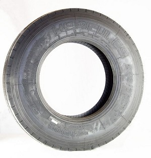 235/75R17.5 Hercules Strong Guard Radial Trailer Tire LR H, 6008 lb Max Load