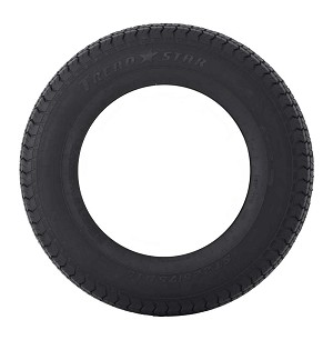 ST175/80D13 Bias Ply Tread Star Trailer Tire LRC, 1360 lb Max Load