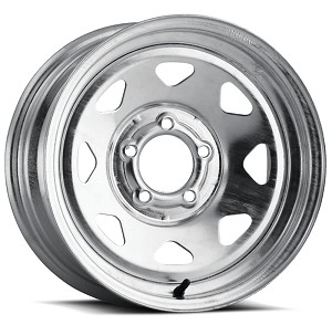 15x6 Galvanized Spoke Trailer Rim 6x5.50 Lug 2850 lb Max Load