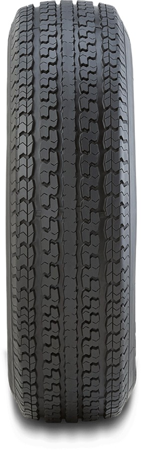 ST215/75R14 HERCULES POWER ST2 Radial Trailer Tire, LRC 1870 lb Max Load