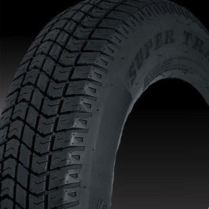 ST175/80D13 Bias Ply Treadstar Trailer Tire LRC,1360 lb Max Load
