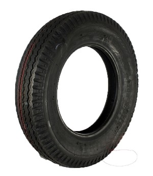 5.30-12 Towmaster Bias Ply Trailer Tire, LR C, 1045 lb Max Load